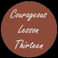 Courageous Homeschooling e-course lesson thirteen