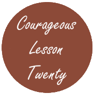 Courageous Homeschooling e-course lesson twenty