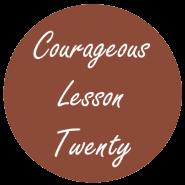 Courageous Homeschooling e-course lesson twenty