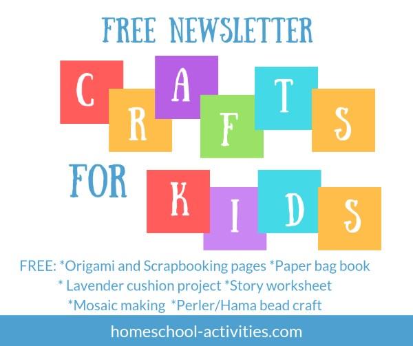 fun crafts newsletter