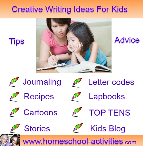 list of creative writing topics for kids