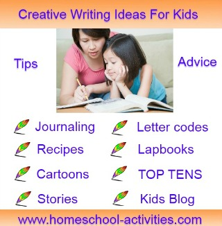creative writing exercises for children