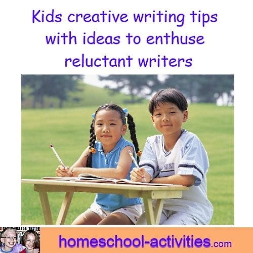 kids creative writing tips