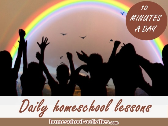 daily homeschool lessons