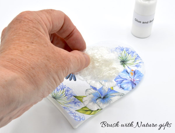 How to remove bubbles from decoupage