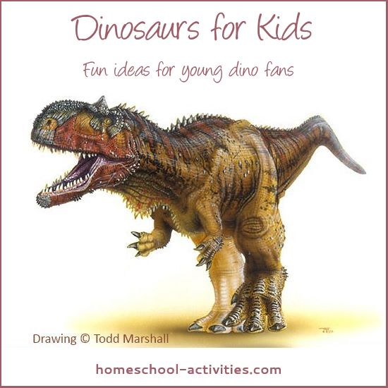 dinosaurs for kids activities