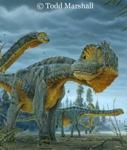dinosaur drawing by todd marshall