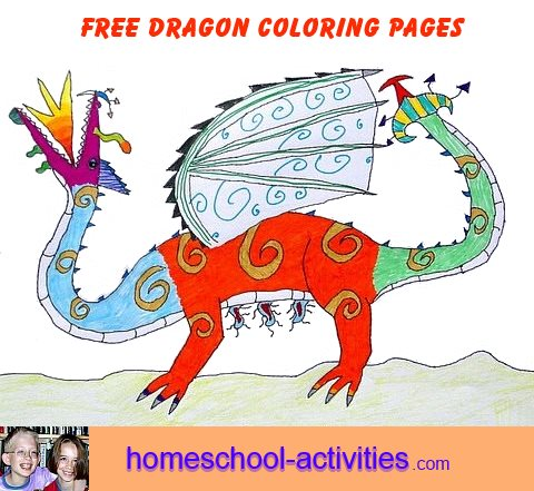 Dragon Coloring Pages Printable Colouring Sheets For Kids