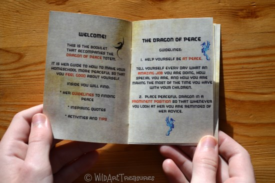 dragon of peace booklet