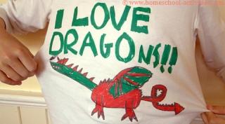 dragon t shir