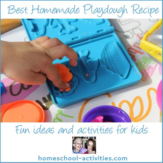 best homemade play dough