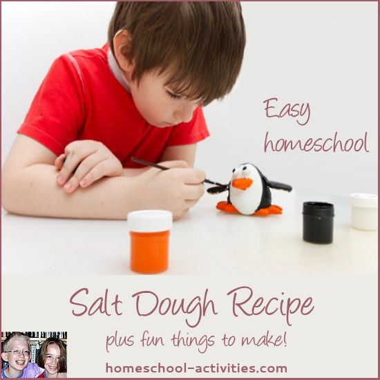 easy salt dough recipe