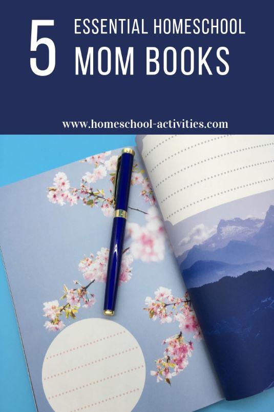 5 essential homeschool Mom books