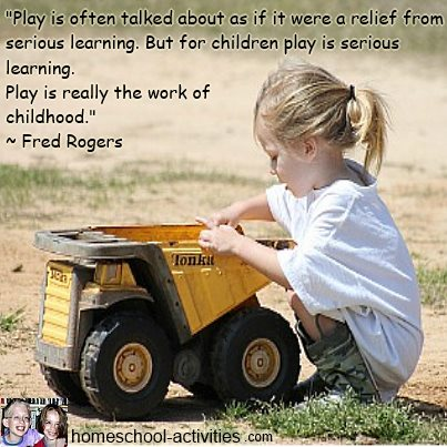 Fred Rogers quote about the importance of play