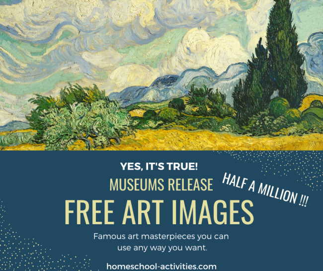 Half a million free art images released by museums