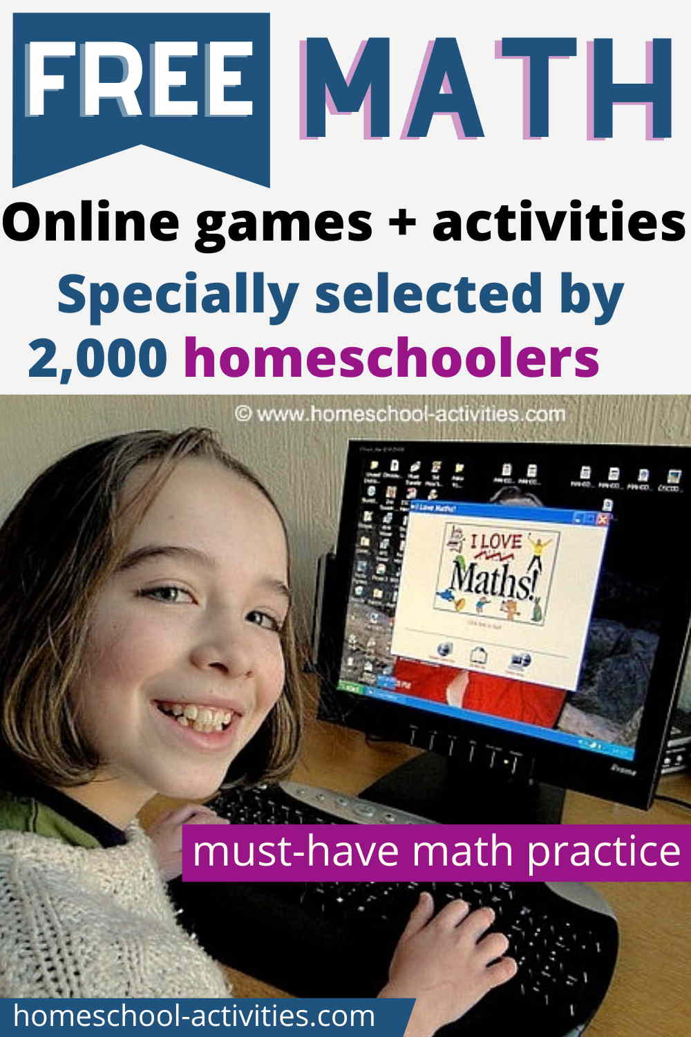 Free math games and activities for kids