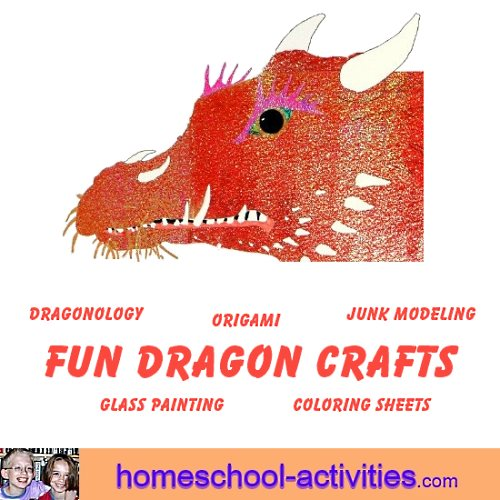 fun dragon crafts