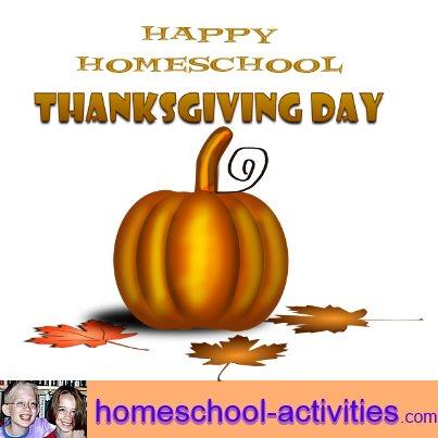 happy homeschool thanksgiving