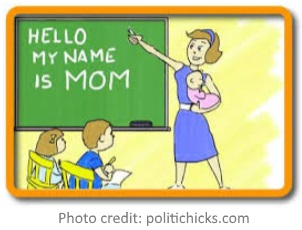 hello my name is Mom