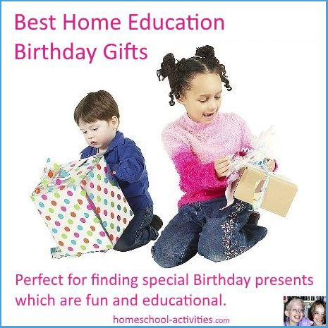 home education Birthday gifts