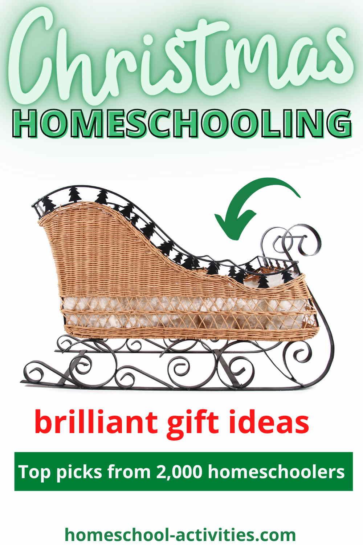 Homeschool Christmas present list