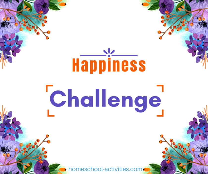 Homeschool Happiness Challenge