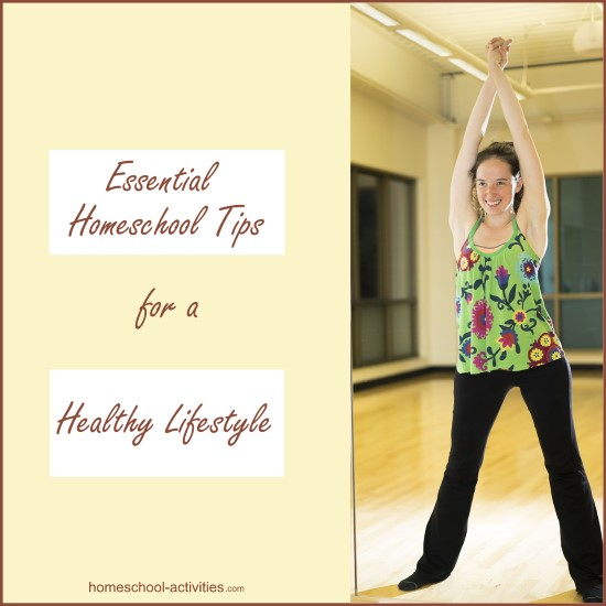 home school tips exercise
