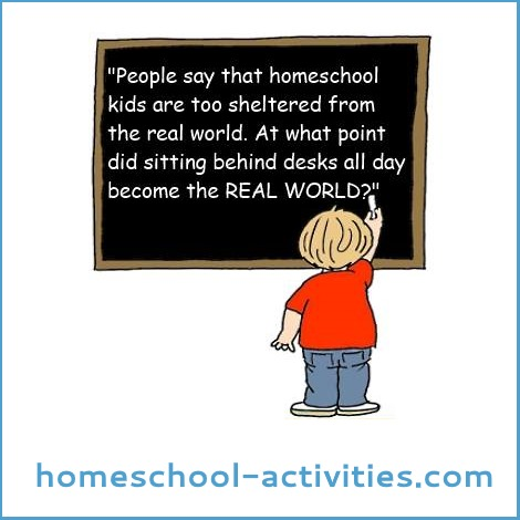 homeschool and the real world