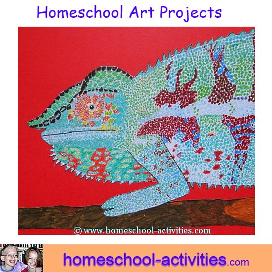 homeschool art projects for kids  activities and ideas