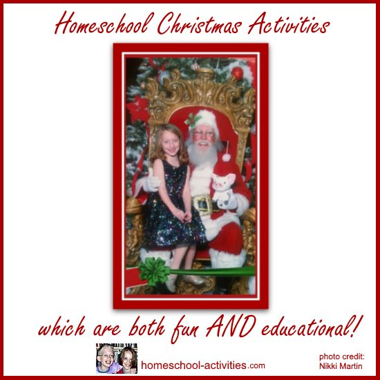 homeschool Christmas activities