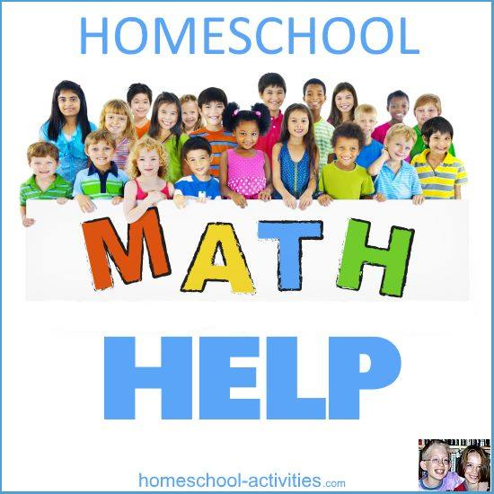 homeschool math help
