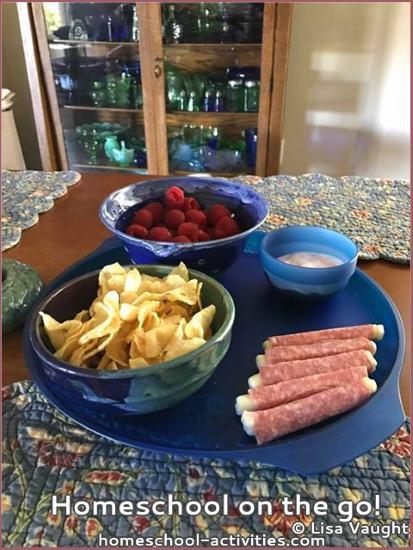 homeschool meals