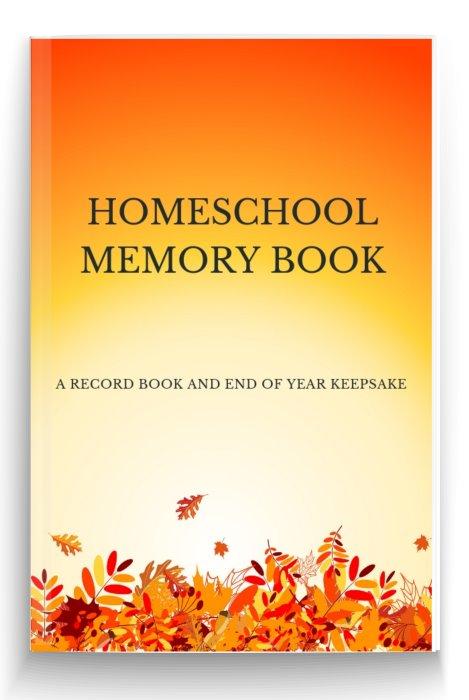homeschooling Memory Book