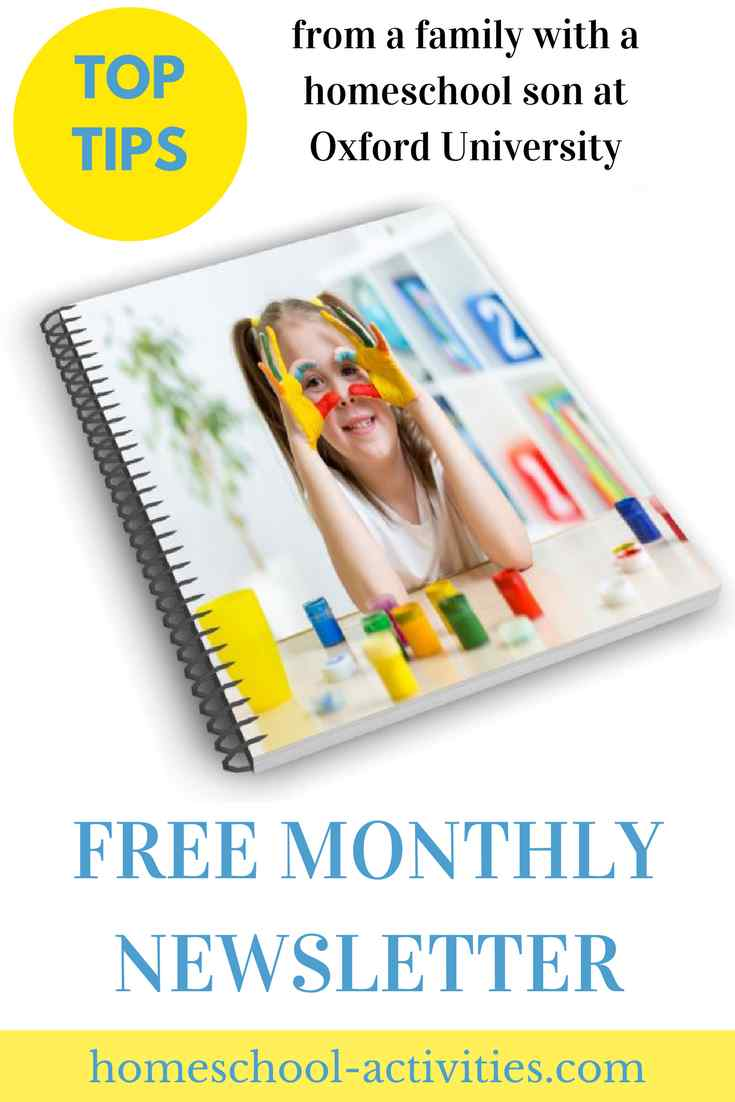 free homeschool newsletter
