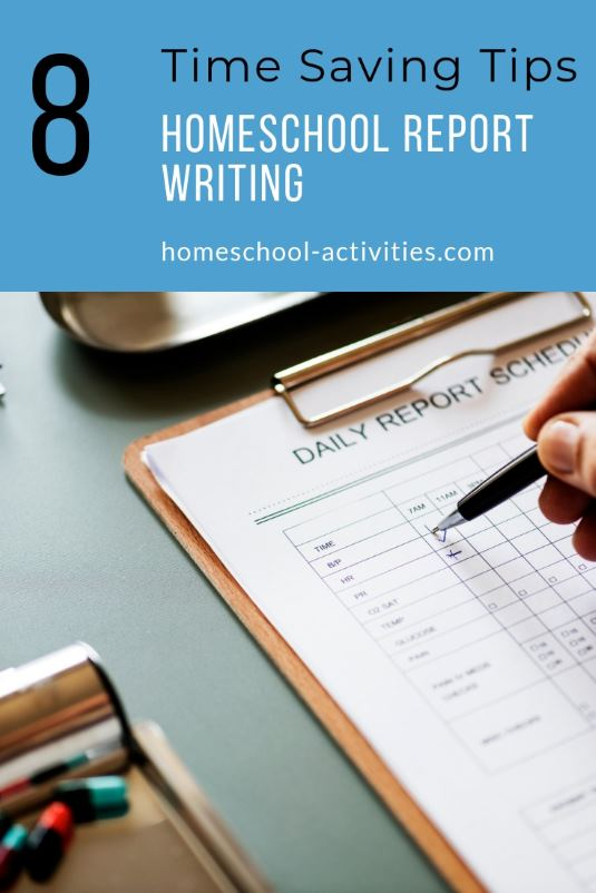 Homeschool report writing