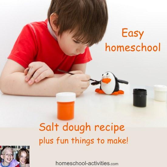 salt dough activities