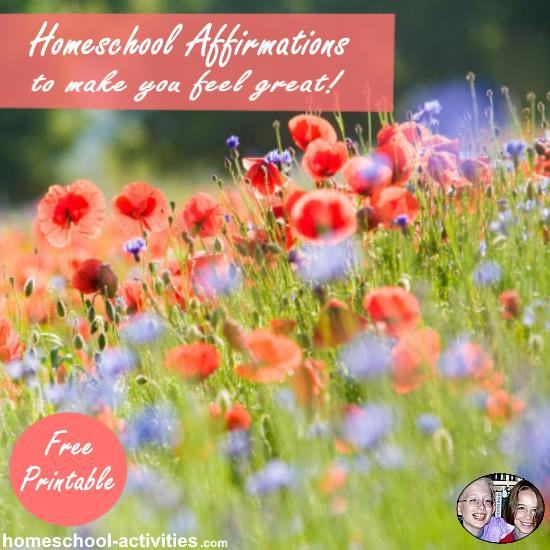 homeschool affirmations