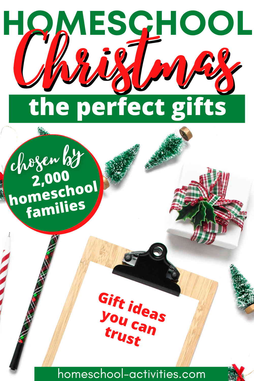 Christmas presents for homeschoolers
