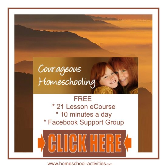 courageous homeschooling e-course