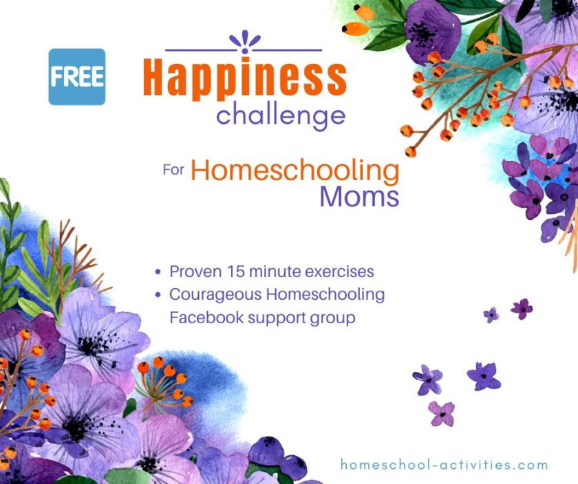 homeschooling happiness challenge