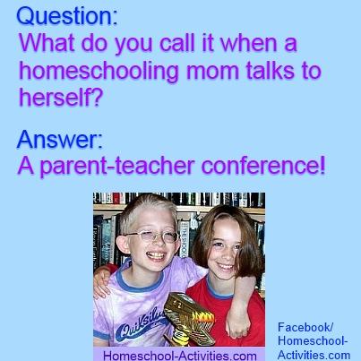 homeschooling joke