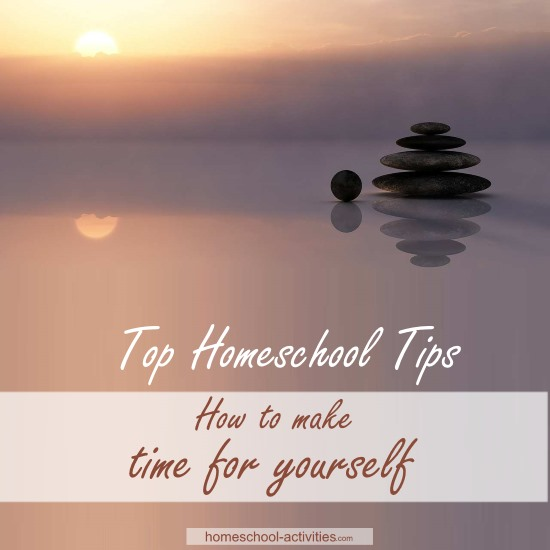 Homeschooling tips: how to make time for yourself will show you WHY it's vital to have your own space and HOW to do it.