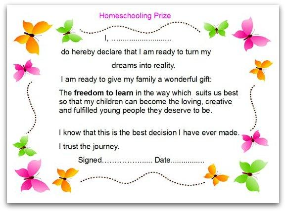 homeschooling prize