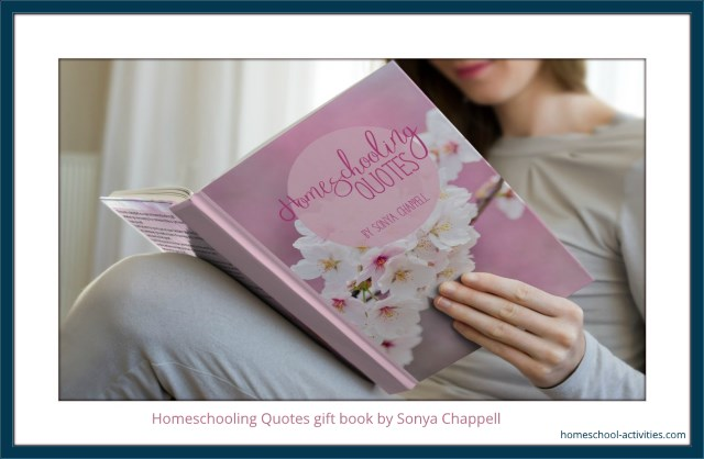 homeschooling quotes gift book for moms