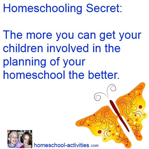 homeschooling secret involve the kids