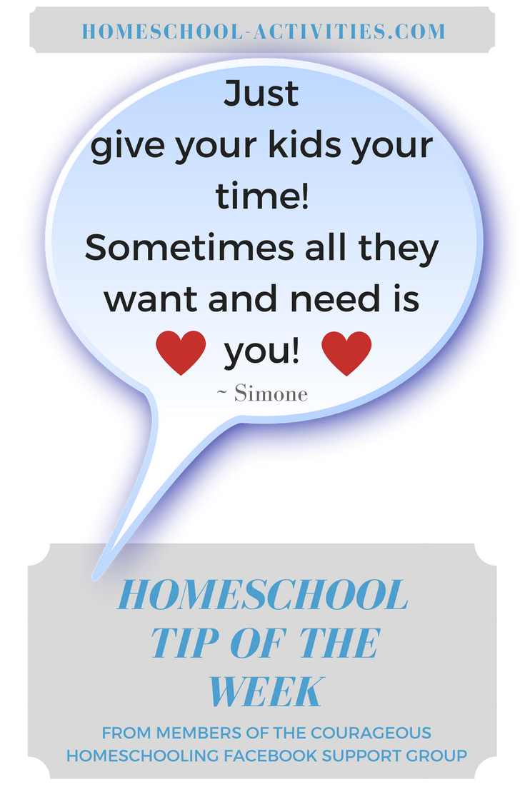 homeschooling tip for beginners