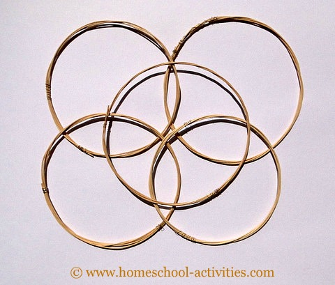 cane hoops for streamers