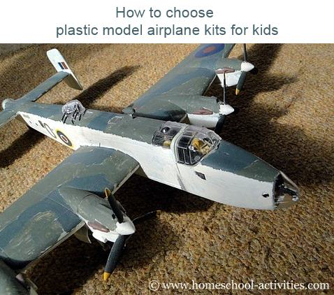 Holiday Activities For Children Making Model Airplanes