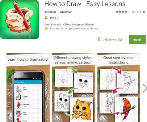 How to draw free app