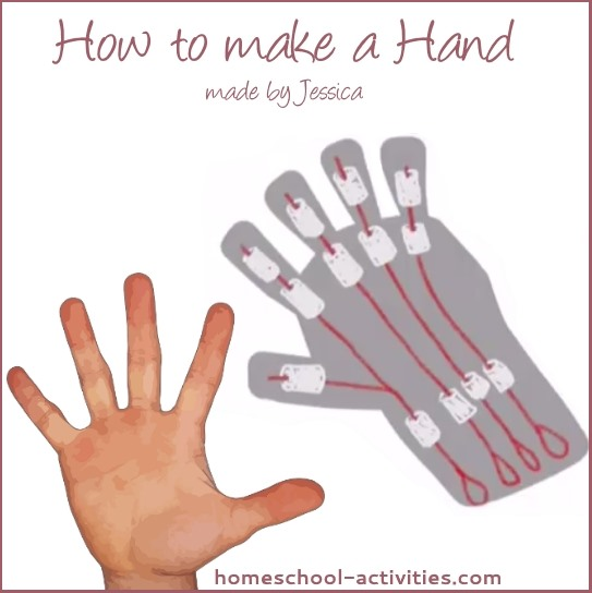 how to make a hand